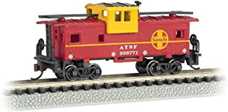 Bachmann Wide Vision N Scale Caboose, Prototypical Red