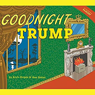 Goodnight Trump audiobook cover art