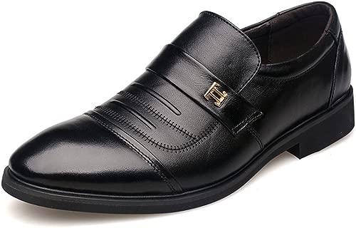 XUE Herrenschuhe Leder Frühling Herbst Spitzen Schuhe Loafers & Slip-Ons Lace-up-Fahr Schuhe Atmungsaktiv Comfort Casual Formale Business-Arbeit