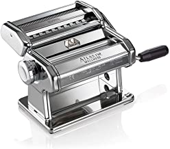 Marcato Design 8320 Atlas 150 Pasta Machine, Made in Italy, Includes Cutter, Hand Crank,..