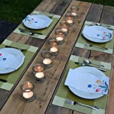 Lumabase Extra Large Tea Light Candles (12 Count)