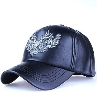 HYID Faux Leather Cap Fall Winter hat Casual Snapback Baseball Cap hat Wholesale