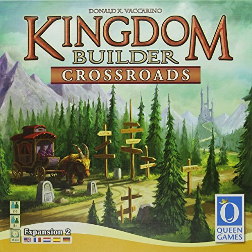 Queen Games Royaume d'extension Builder Crossroads - version anglaise