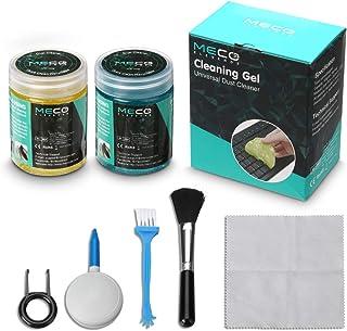MECO Gel Nettoyant Clavier avec 5 Kits de Nettoyage Clavier Super Clean Nettoie Poussière Saleté pour Clavier, PC, Ordinat...