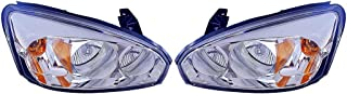 Fits Chevrolet Malibu 2004-08/MAXX 2004-2007 Headlight Assembly Pair Driver and Passenger Side (DOT Certified) GM2502235, GM2503235