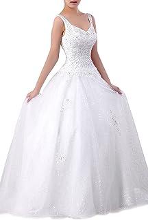 5439f0e176 Adorona Hand Beads Bride Tulle Natrual Sweetheart Sleeveless Straps Long Wedding  Dress Train
