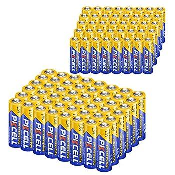 40Pcs AA + 40 Pcs AAA 1.5V Extra Heavy Duty Batteries  80 Combo Pcs   40 AA+AAA
