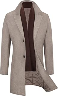 Best mens wool pea coat long Reviews