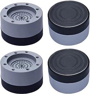 otutun Tampons À Pied Machine À Laver, 4 Pièces Pieds en Caoutchouc Anti-Vibrations Patin, Pieds Stabilisateur Piédestal C...