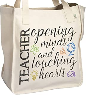Teacher opening minds tote bag - School Teacher's Tote Bag - Perfect Gift for any teacher