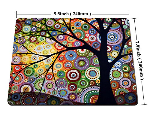 Smooffly Tree of Life Mouse Pads 9.5in X 7.9in Personality Desings Gaming Mouse Pad Style Photo #2