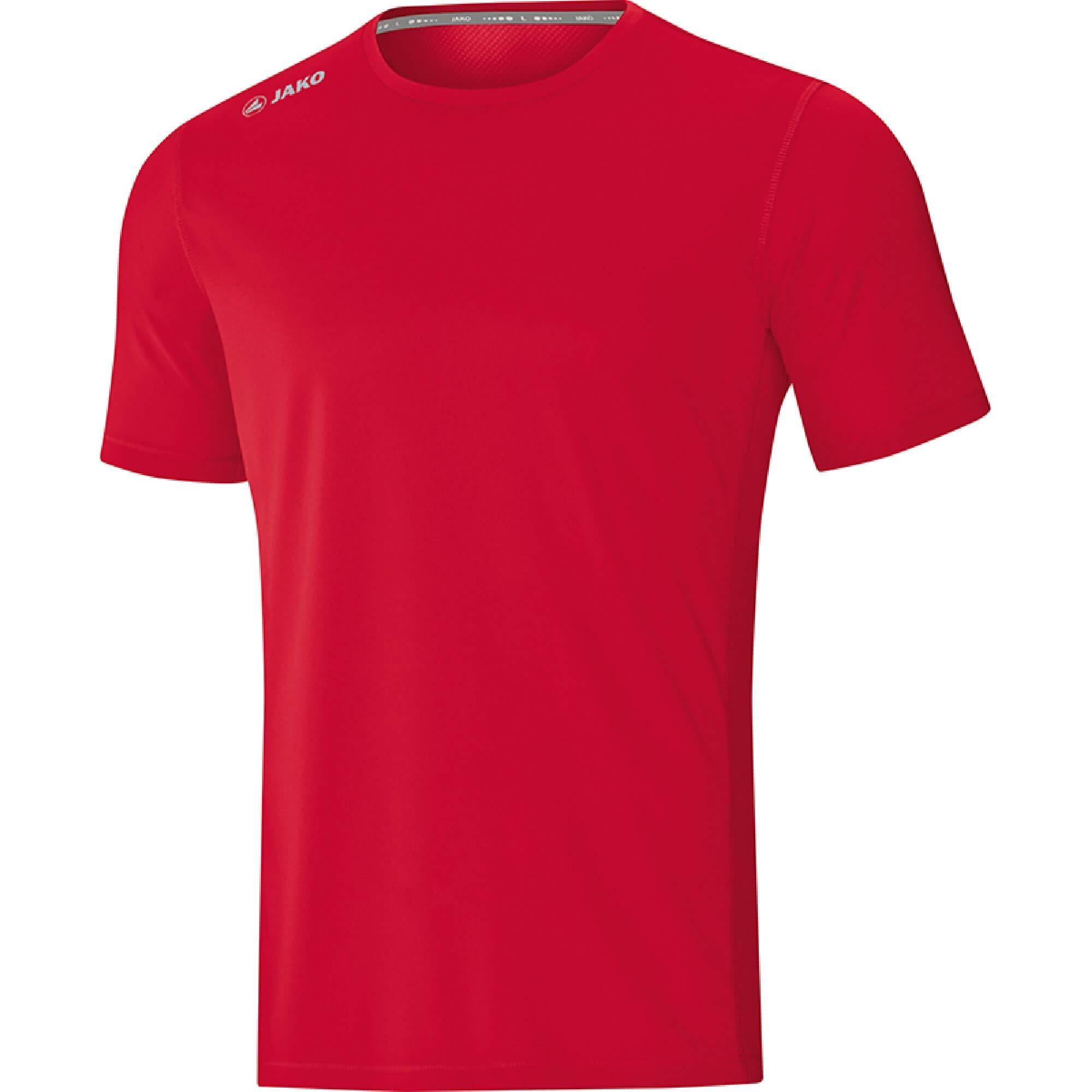 JAKO Herren T-shirt Run 2.0, rot, XL, 6175