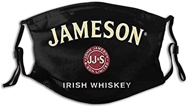 WTYQA Adults Jameson Irish Whiskey logo Reusable /& Washable Anti Dust Mouth Cover Bandana for Sport/&Outdoor