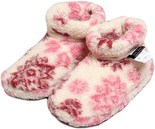 [ALWERO] 正規 アルベロ ルームシューズ フジライン ダド 結晶柄ピンク Room Shoes -fuji DADO - rozowe sniezki
