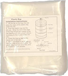 VacuMaid PB14MK Replacement Can Liners Central Vacuum (Qty. 8) for 14