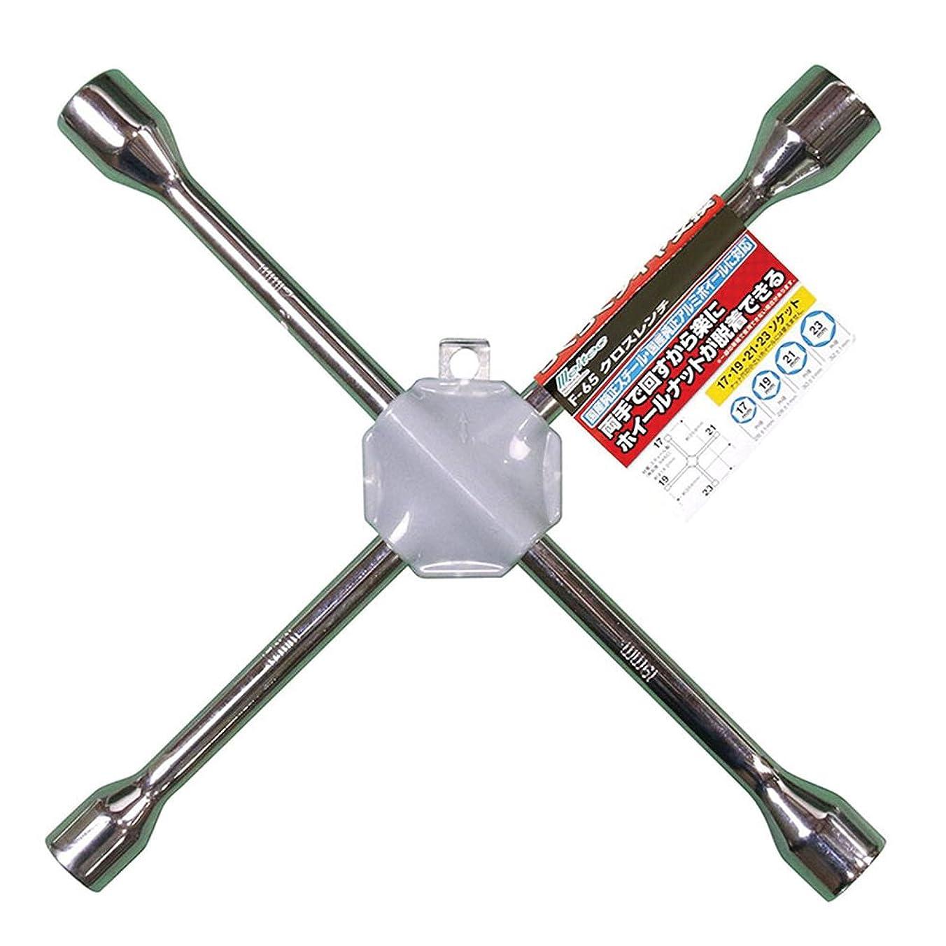 メルテック クロスレンチ ソケットサイズ:17/19/21/23mm Meltec F-65