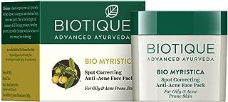 Biotique Bio Myristica Spot Correcting Anti Acne Face Pack, 20g