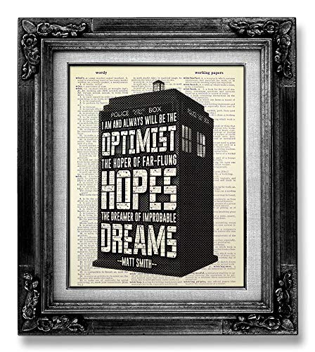 Doctor Who Quote Poster