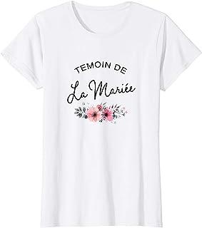 Femme Témoin de la Mariée ,spécial mariage T-Shirt