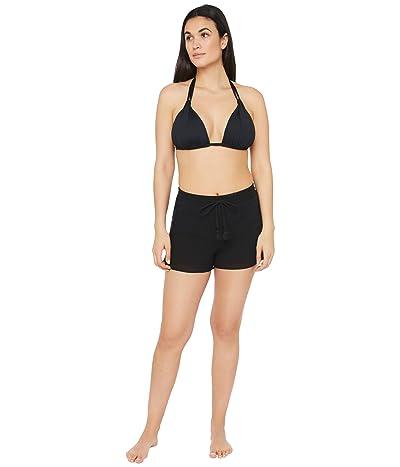 La Blanca Island Fare Shorts Swimsuit Bottoms (Black) Women