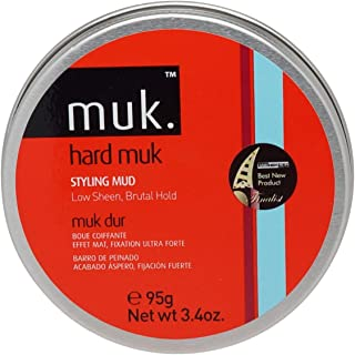 Muk Haircare Hard Brutal Hold Mud, 3.4 Ounce