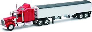 New-Ray Kenworth W900 Grain Hauler Tractor and Trailer 1/32 Scale Toy Model Car