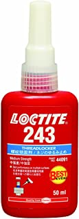 LOCTITE(ロックタイト) ねじゆるみ止め用嫌気性接着剤 243 50ml 44091