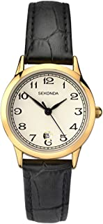 Sekonda Women's SK2484 Year-Round Analog Quartz Black Watch