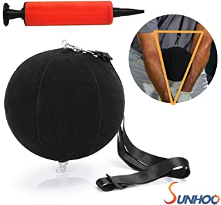 SUNHOO Golf Smart Ball, Swing Training Aids, Portable Intelligent Impact Ball, Inflatable Posture Correction Tool, Pump Included, Gifts Idea