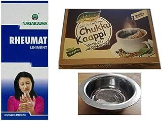 Nagarjuna Rheumat Liniment 30ml Pain Killer; With Free Assal Instant Ginger Coffee Powder 100 gm & With Nimita Brand Stain...