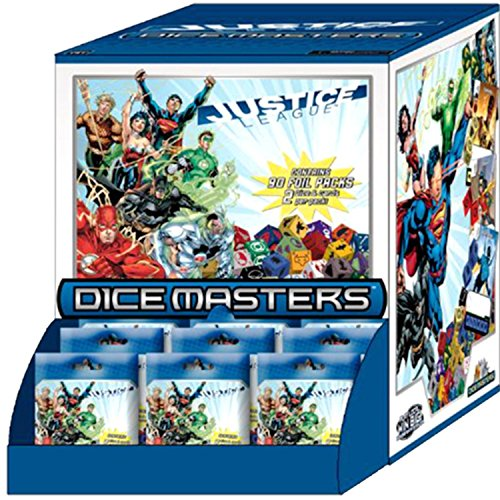 Board Game (Unisex-N/a) Justice League Dice Masters Countertop Display