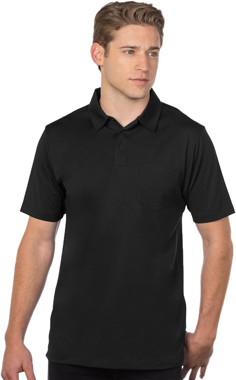 Tri-Mountain Performance Men's K030P Stalwart Snag Resistant S/S Pocket Polo Shirt