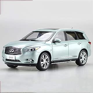 PENGJIE-Model 1:18 Infiniti QX60 Car Model Highly Simulated Pedal Version (Color : Blue)