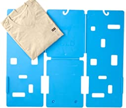 GigaTent MiracleFold Laundry Folder Clothes T-Shirts Pants Towels Organizer Fast Easy and Fun Time Saver (Blue),