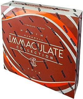 2019 Panini Immaculate Collection MLB Baseball box (6 cards)