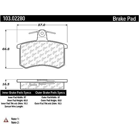 Centric 103.10300 Brake Pad