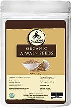 Naturevibe Botanicals Organic Ajwain Seeds, 1 Pound | Trachyspermum ammi | Non GMO & Gluten Free | Helps in Digestion | Adds Flavour.