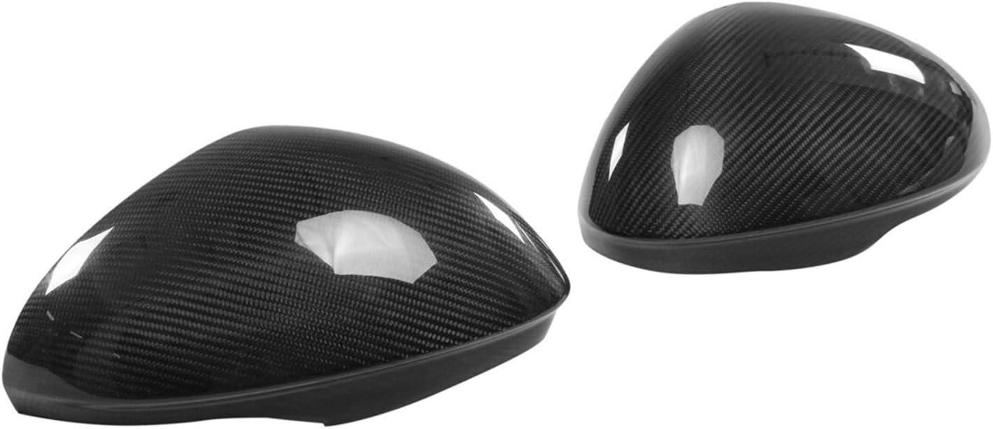 WOCAO Car Headlight Cover Shell A Rea Pair Oklahoma City Mall Ranking TOP1 Fiber Real Carbon