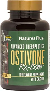 NaturesPlus Advanced Therapeutics Ostivone Rx Bone - 60 Vegetarian Tablets - Maximum Nutritional Support for Skeletal Syst...