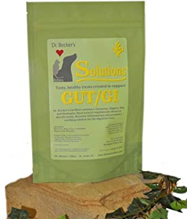 Dr Becker's Gut/GI Solution Bites Treats - Natural Supplement for Digestive System for Dogs