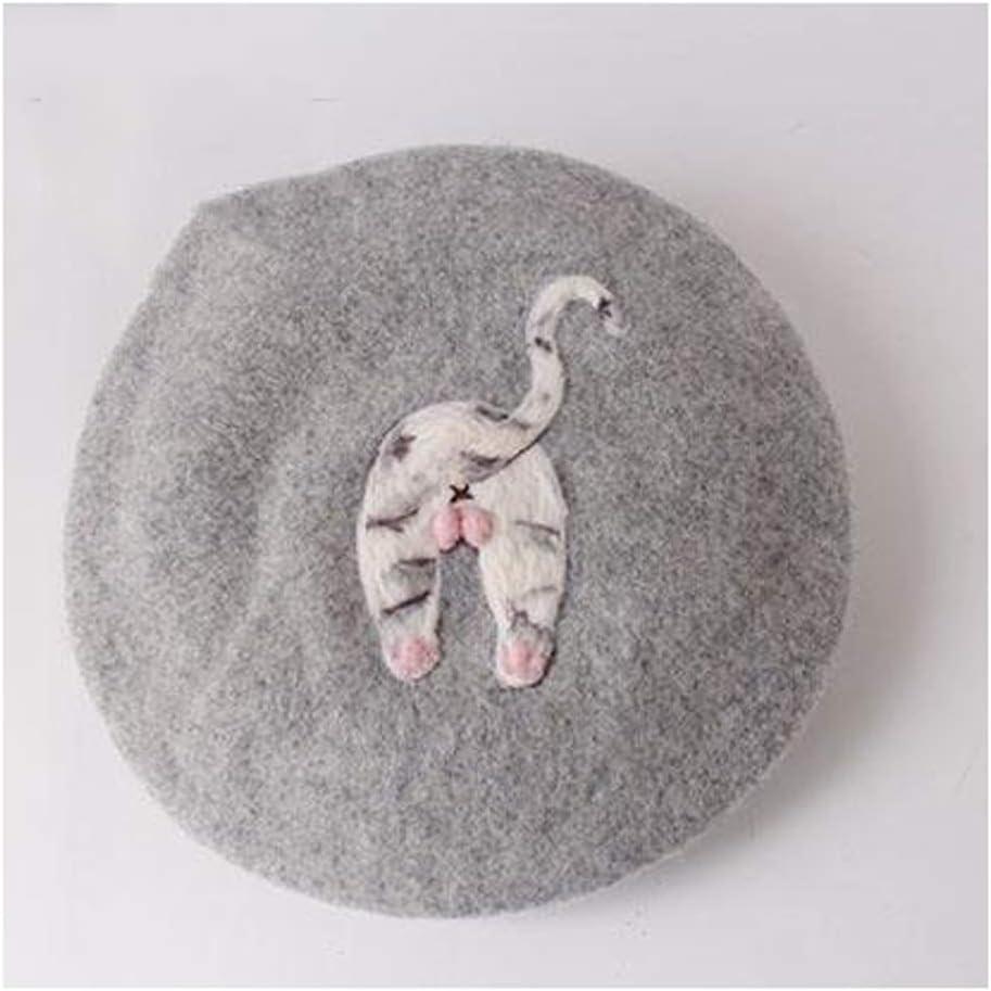 Supremehome1 Oakland Mall Women's Solid Animal Feet New Shipping Free Wool Winter Cute Felt Hat