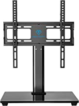 PERLESMITH Swivel Universal TV Stand / Base – Table Top TV Stand for 32-55 inch LCD..