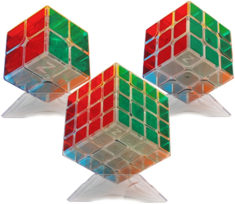 HJXDtech-Hübsche transparente Aufkleber Zauberwürfel 3 Pack Set 2x2 3x3 4x4 Professional 3D Puzzle Speed magischer Würfel Pädagogisches Spielzeug für Erwachsene oder Kinder B01N2AXGGS Charmantes Design     | Reichlich Und Pünktlic