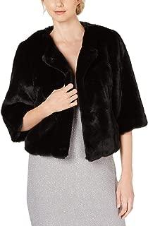 Womens Faux Fur Warm Cropped Jacket