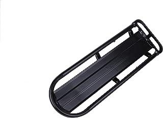 自転車用荷台 簡単取り付け 軽量リアキャリア ブラック