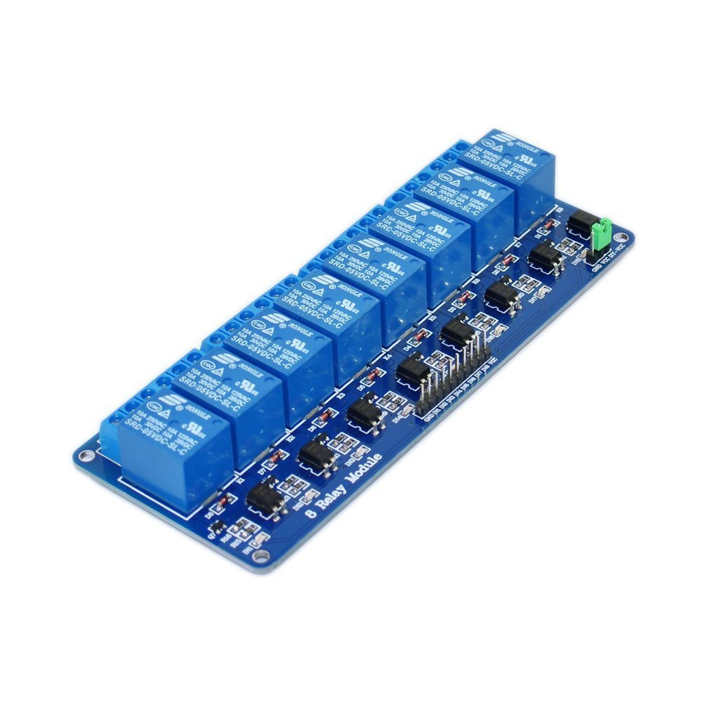 Lysignal DC 5V 8 Channel Relay Module with ARM Excellent Sale 51 for Op AVR