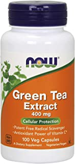 Now Green Tea Extract 100 Capsules- 400 Mg Strength