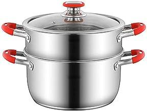 7.8/8.6/9.4 Inch Steamer Pot Set, Stomende Kookgerei Potten Voor Stoofschotels, Soepen En Warmte-voedsel, Stoomboot Kookge...