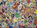 Lot de stickers enfant, héros, personnages de dessins animes, animaux, BD, cartoon, autocollants en vinyl étanche,...