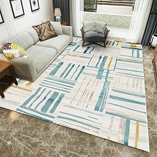 alfombra meditacion sofas de salon grandes La alfombra beige azul se utiliza en el dormitorio y la sala de estar para resistir la suciedad y la humedad. alfombra pequeña dormitorio 80X120CM 2ft 7.5'X3
